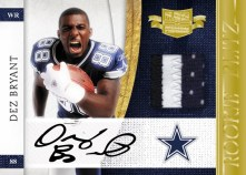 2010 Plates & Patches Dez Bryant Rookie Blitz Auto