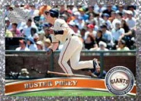 2011 Topps Buster Posey Diamond Parallel Series 2