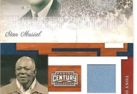 2010 Century Collection Stan Musial Postcards Jersey