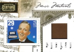 2010 Century Collection Bing Crosby Music Stamp