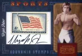 2010 Century Collection URIJAH FABER Stamp Autograph Auto