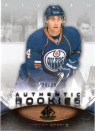 Jordan Eberle 2010/11 SP Game Used ROOKIE RC /99 (SP)