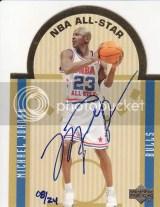 2003-04 Ultimate Collection Michael Jordan Autograph