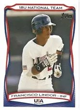 2010 Topps USA 18u Team Francisco Lindor