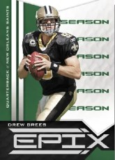 2010 Panini Epix Season Drew Brees