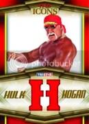 2010 TNA Icons Hulk Hogan Bandana Letter H