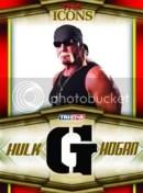 2010 TNA Icons Hulk Hogan Bandana Letter G