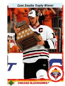 2010-11 UD Series 2 Jonathan Toews Award Winner Sp