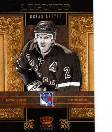 2010-11 Crown Royale Legends Brian Leetch