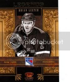 2010-11 Crown Royale Legends Brian Leetch
