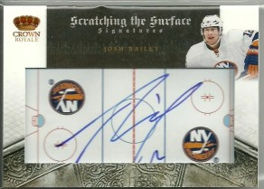 2010-11 Panini Crown Royale Scratching The Surface Autographs