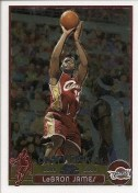 03/04 Topps Chrome LeBron James Rookie Card