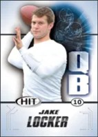 2011 Sage Jake Locker Rookie RC