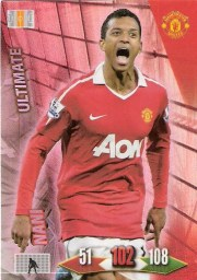 2010-11 Panini Adrenalyn Manchester United Nani Ultimate