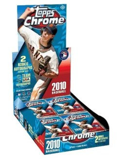 2010 Topps Chrome Baseball Hobby Box