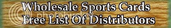 Sports Card Wholesale Distributor List