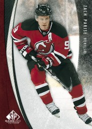 2010/11 Sp Game Used Zach Parise Base Card