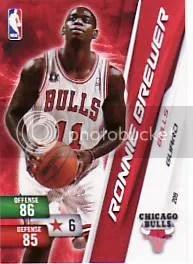 2010-11 Adrenalyn NBA Series 2 Ronnie Brewer Code
