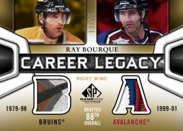 2010/11 UD Sp Game Used Ray Bourque Career Legacy Patch