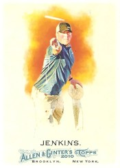 2010 Topps Allen & Ginter Avery Jenkins Base Card #73