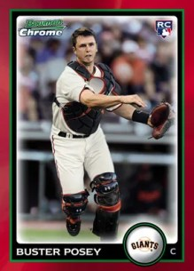 2010 Bowman Chrome Draft Picks & Prospects Buster Posey (RC)