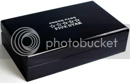 2010 Press Pass Five 5 Star Nascar Racing Hobby Box