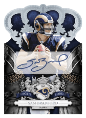 2010 Crown Royale Sam Bradfrod Autograph Rookie Card