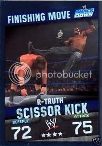 2009 Slam Attax WWE Finishing Move R-Truth