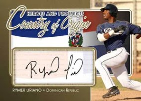 2010/11 ITG Rymer Lirano Country of Origin Autograph