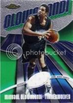 03-04 Topps Finest Michael Olowokandi Relic