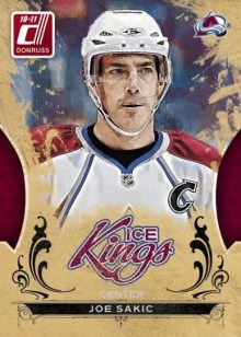 2010/11 Joe Sakic Ice Kings