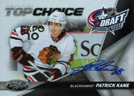 10/11 Certified Patrick Kane Top Choice Toronto Expo Auto
