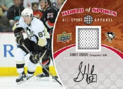 2010 World of Sports Sidney Crosby All Sport Apparel Auto Jersey