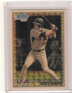 2010 Bryce Harper Team USA Superfractor 1/1