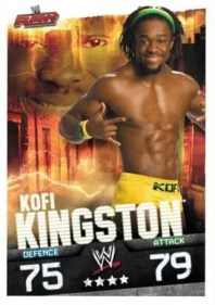 2009 Slam Attax Evolution Kofi Kingston