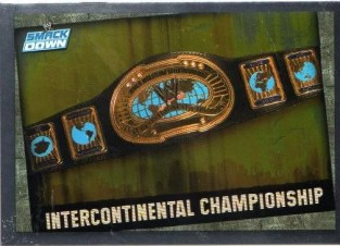 2009 WWE Slam Attax Title Belt Card