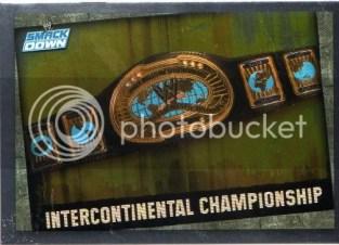 2009 WWE Slam Attax Title Belt Card