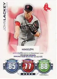 2010 Topps Attax John Lackey
