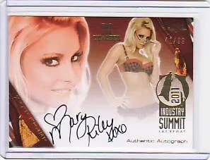 2011 Las Vegas Summit Mary Riley Autograph