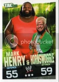 2009 Slam Attax Evolution Tag Team Henry/Hornswoggle