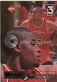 1998 Edge Michael Olowokandi RC