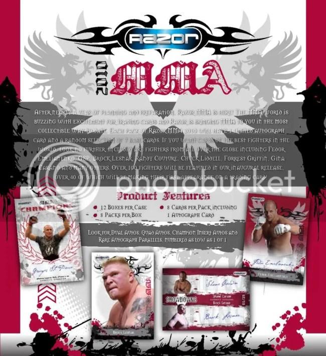 2010 Razor MMA Sell Sheet