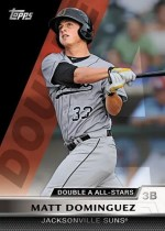 2011 Topps Pro Debut Double A All Star Matt Dominguez Insert Card