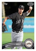 2011 Topps Pro Debut Thomas Neal Base Card