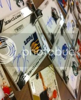 2010/11 Panini America Quality Control Photos of Rookies and Stars Basketball