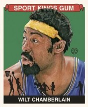 2010 Sport Kings Gum Wilt Chamberlain Base Card