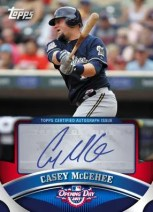 2011 Topps Opening Day Casey McGehee Autograph