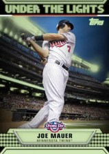 2011 Topps Opening Day Joe Mauer Under the Lights