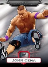 2010 Topps WWE Platinum John Cena Base Card