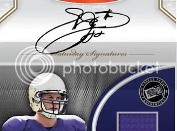 2011 Press Pass Legends Jake Locker Jersey